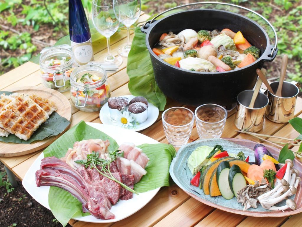 BBQ_イメージカット 昼食