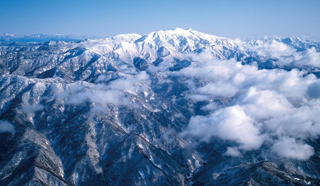 日本三代名山(霊峰)白山