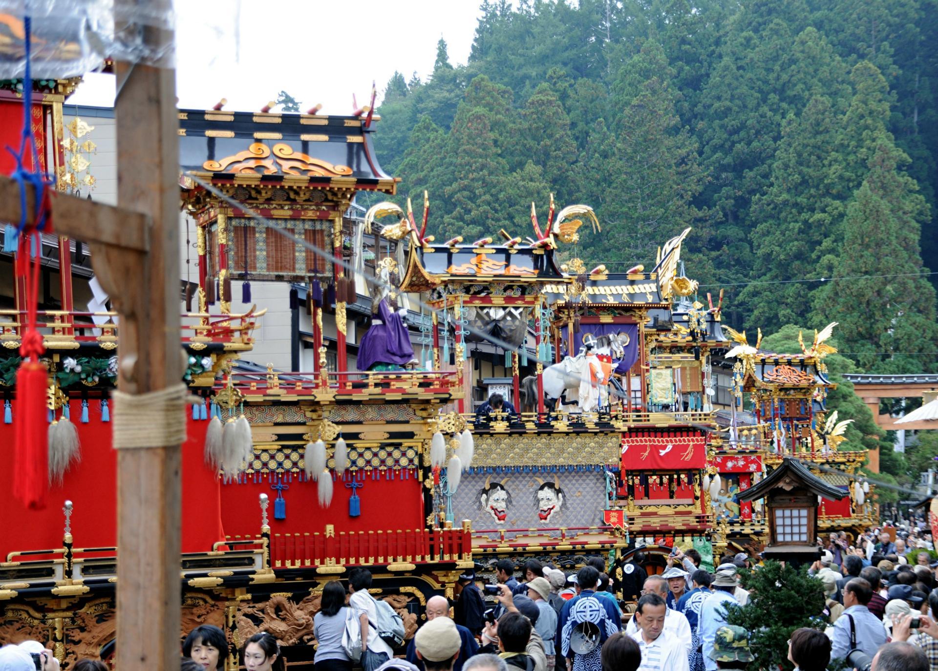 お祭り商店街西参道商店街振興組合-お祭りプラザ-お祭り紹介-高山祭2