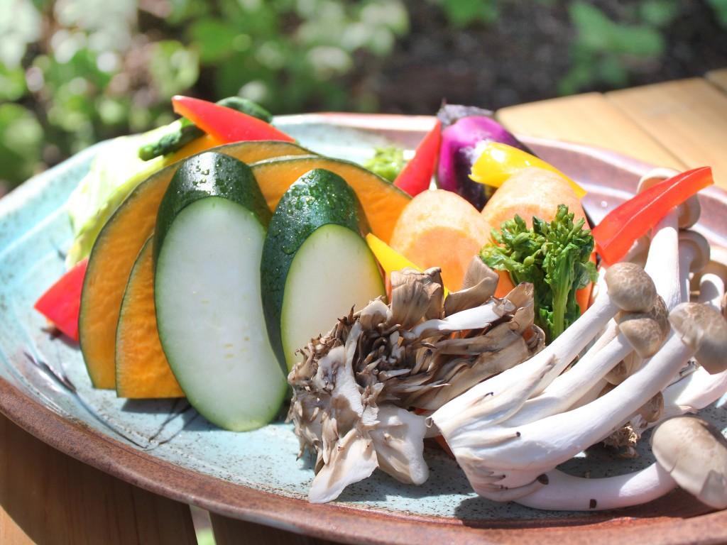 BBQ_野菜盛り
